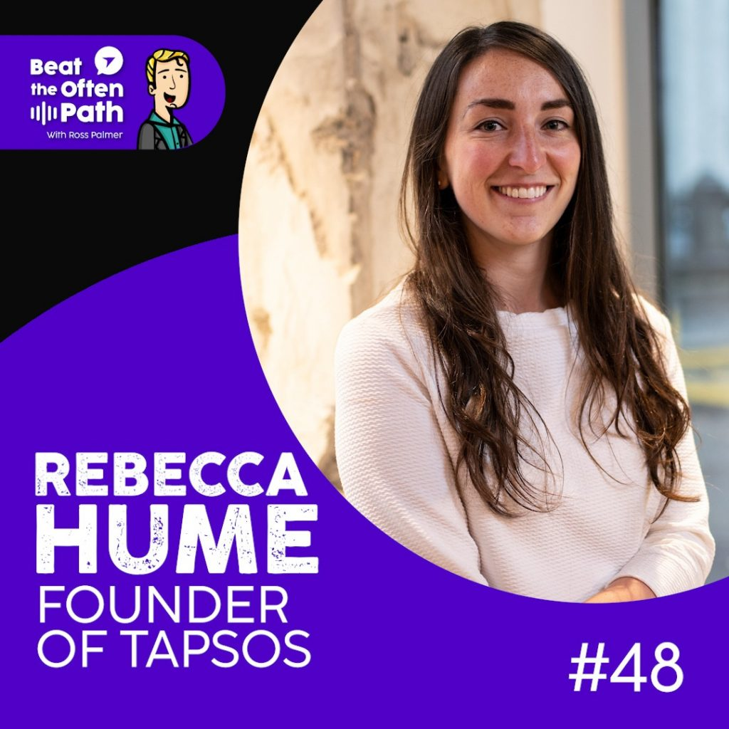 Ep. 48 - Becca Hume: Founder of TapSOS, Helping People with Disabilities in Emergencies